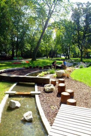 Kneipp-Wasser-Wohlfühlpfad im Dillinger Taxispark